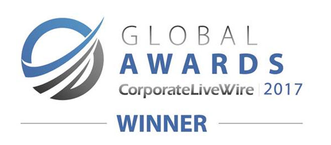 Corporate LiveWires Global Awards 2017-Winner