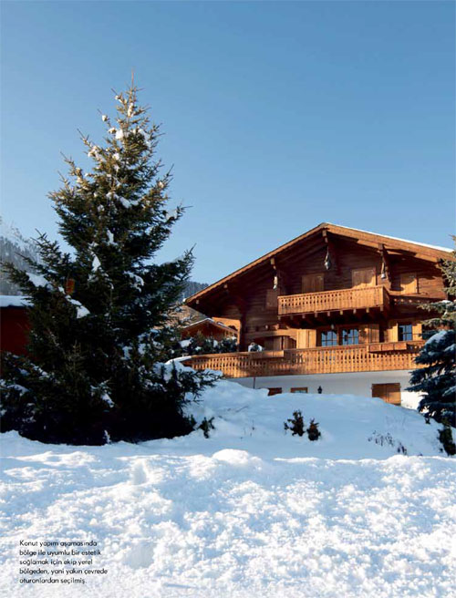 article about swiss chalet