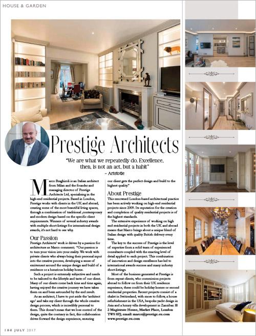 Prestige architects