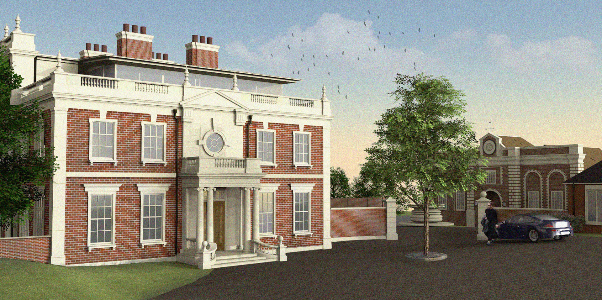 New house in Hertfordshire